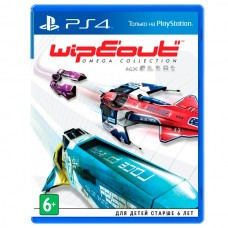 Видеоигра для PS4 . WipEout Omega Collection